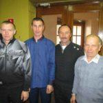 В. А. Попов, Ю. В. Лаптев, А. М. Елькин, А. В. Бахтин из агрофирмы «Надежда».